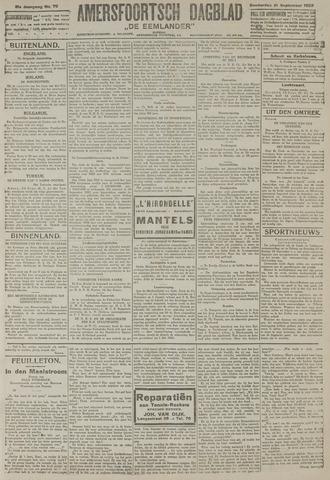 Amersfoortsch Dagblad / De Eemlander 1922-09-21