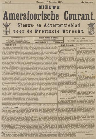 Nieuwe Amersfoortsche Courant 1918-08-17