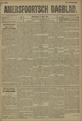 Amersfoortsch Dagblad 1911-05-15