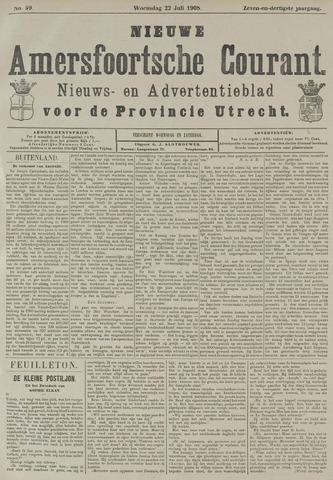 Nieuwe Amersfoortsche Courant 1908-07-22