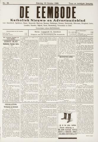 De Eembode 1908-10-10