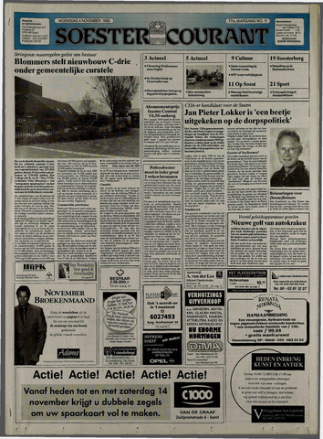 Soester Courant 1998-11-04