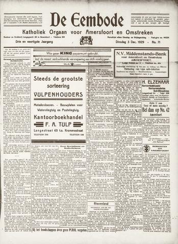 De Eembode 1929-12-03