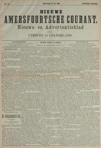 Nieuwe Amersfoortsche Courant 1889-07-10