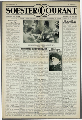 Soester Courant 1962-08-28