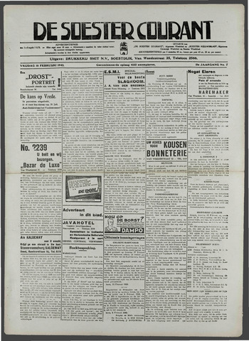 Soester Courant 1940-02-16