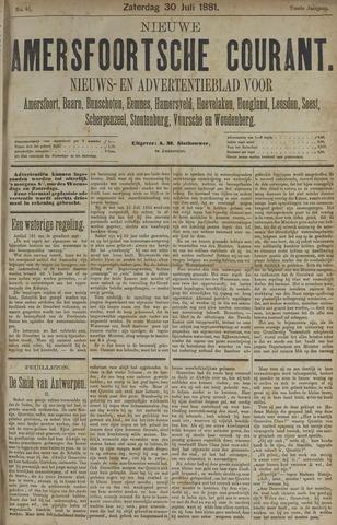Nieuwe Amersfoortsche Courant 1881-07-30