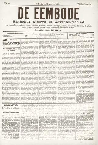 De Eembode 1891-12-05
