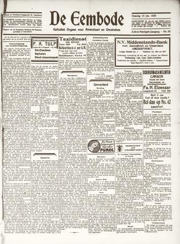 De Eembode 1935-01-15