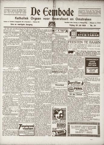 De Eembode 1929-07-26