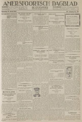 Amersfoortsch Dagblad / De Eemlander 1929-01-30