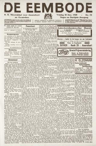 De Eembode 1925-12-18