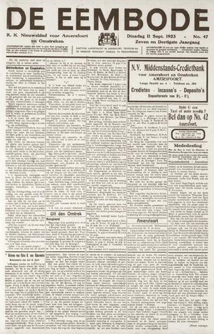 De Eembode 1923-09-11