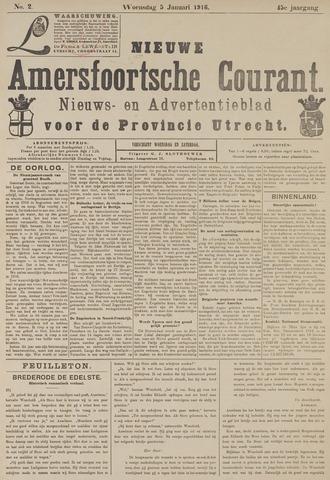 Nieuwe Amersfoortsche Courant 1916-01-05