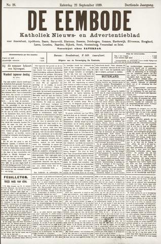 De Eembode 1899-09-23