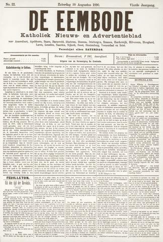 De Eembode 1890-08-30
