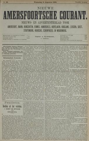 Nieuwe Amersfoortsche Courant 1883-08-15