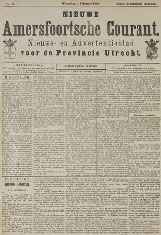 Nieuwe Amersfoortsche Courant 1898-02-09