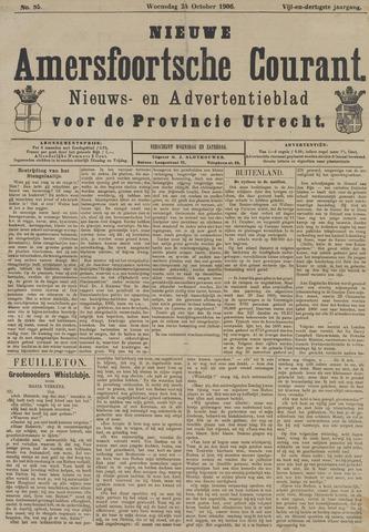 Nieuwe Amersfoortsche Courant 1906-10-24