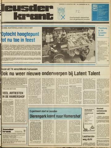 Leusder Krant 1982-08-31