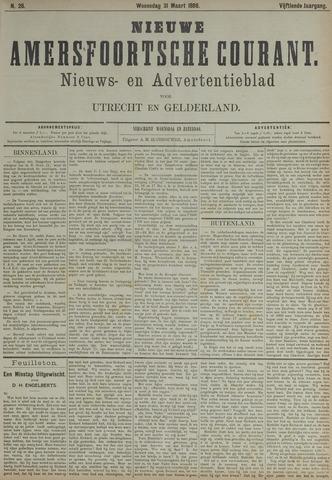 Nieuwe Amersfoortsche Courant 1886-03-31