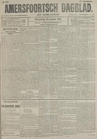 Amersfoortsch Dagblad / De Eemlander 1915-01-20