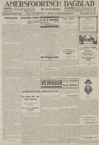 Amersfoortsch Dagblad / De Eemlander 1930-10-30