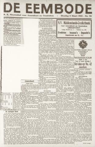 De Eembode 1923-03-06