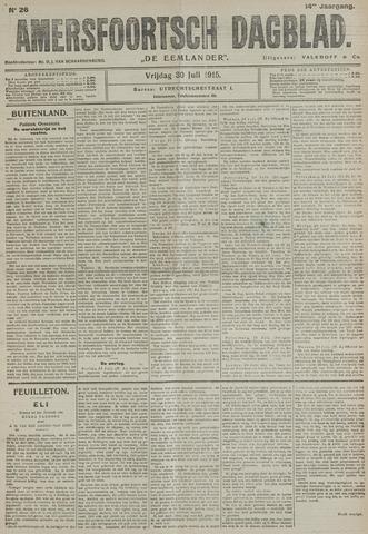 Amersfoortsch Dagblad / De Eemlander 1915-07-30