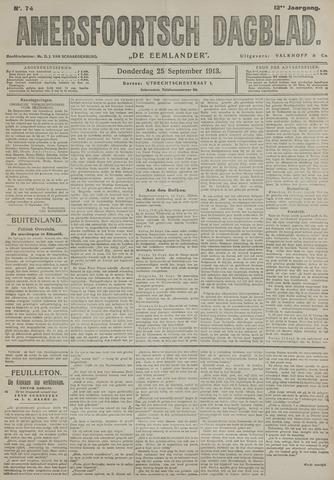 Amersfoortsch Dagblad / De Eemlander 1913-09-25