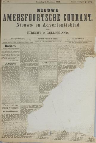 Nieuwe Amersfoortsche Courant 1892-12-28
