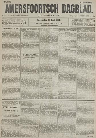 Amersfoortsch Dagblad / De Eemlander 1914-06-10