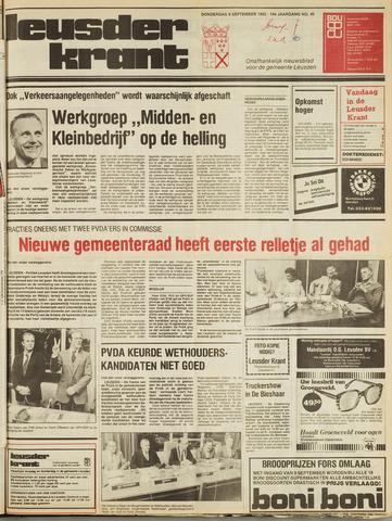 Leusder Krant 1982-09-09