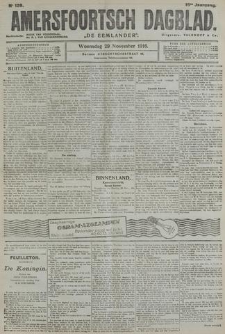 Amersfoortsch Dagblad / De Eemlander 1916-11-29
