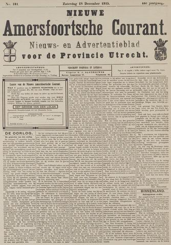 Nieuwe Amersfoortsche Courant 1915-12-18