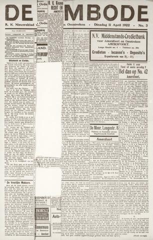 De Eembode 1922-04-11