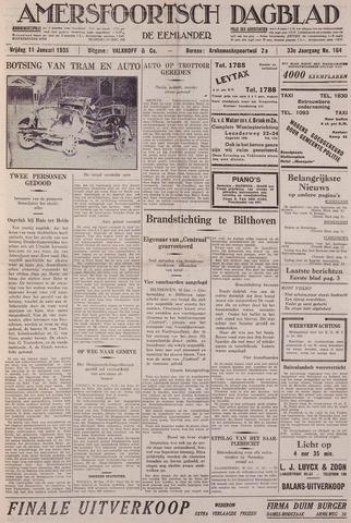 Amersfoortsch Dagblad / De Eemlander 1935-01-11