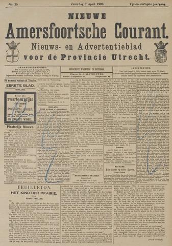 Nieuwe Amersfoortsche Courant 1906-04-07