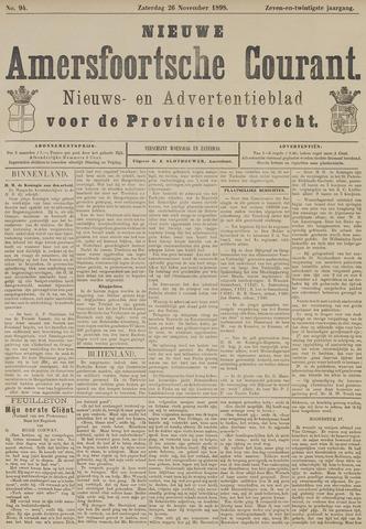 Nieuwe Amersfoortsche Courant 1898-11-26
