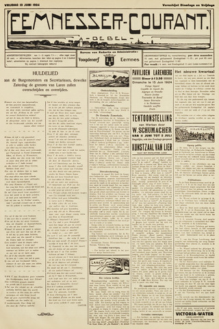 Eemnesser Courant 1924-06-13