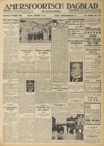 Amersfoortsch Dagblad / De Eemlander 1935-11-21