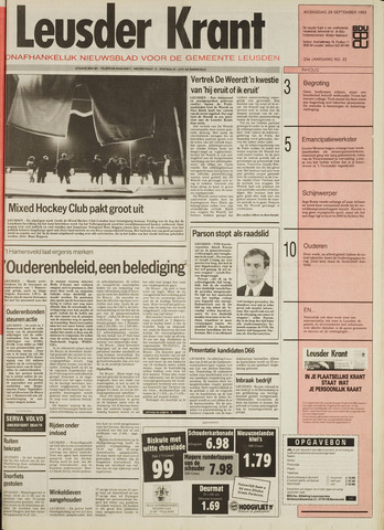 Leusder Krant 1993-09-29