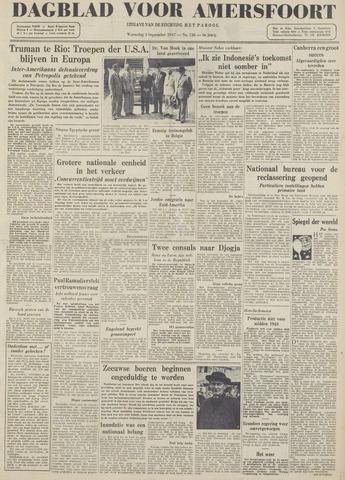 Dagblad voor Amersfoort 1947-09-03