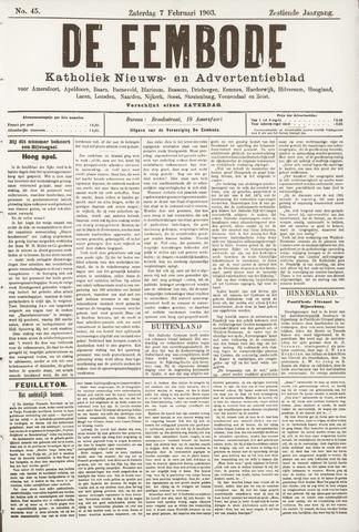 De Eembode 1903-02-07