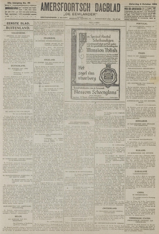 Amersfoortsch Dagblad / De Eemlander 1926-10-09
