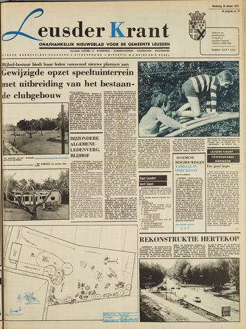 Leusder Krant 1972-10-26