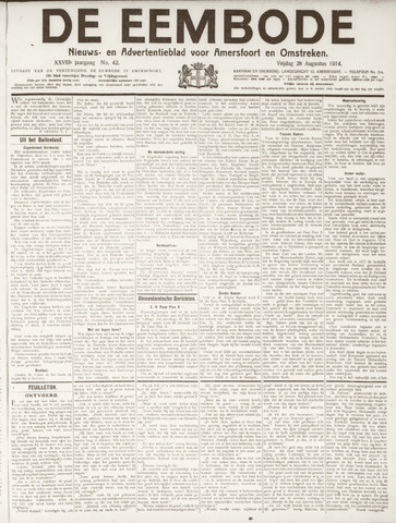 De Eembode 1914-08-28