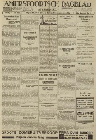 Amersfoortsch Dagblad / De Eemlander 1932-07-09
