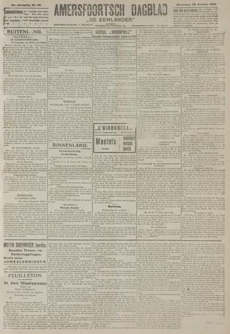 Amersfoortsch Dagblad / De Eemlander 1922-10-25