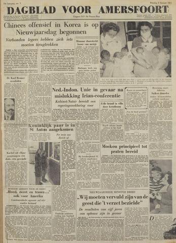 Dagblad voor Amersfoort 1951-01-02